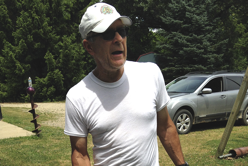 Bill Darwin Jr., July 2016