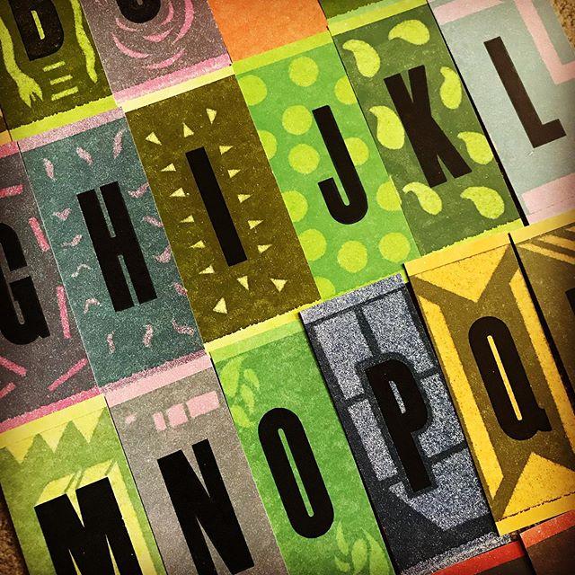 Letterpress workshop at Signal Return—- pressure printing technique—- lead by Brad Vetter. #12acrestudio #letterpress #letterpressprinting #letterpressworkshop #signalreturn #bradvetter #pressureprinting #letterpresstechnique