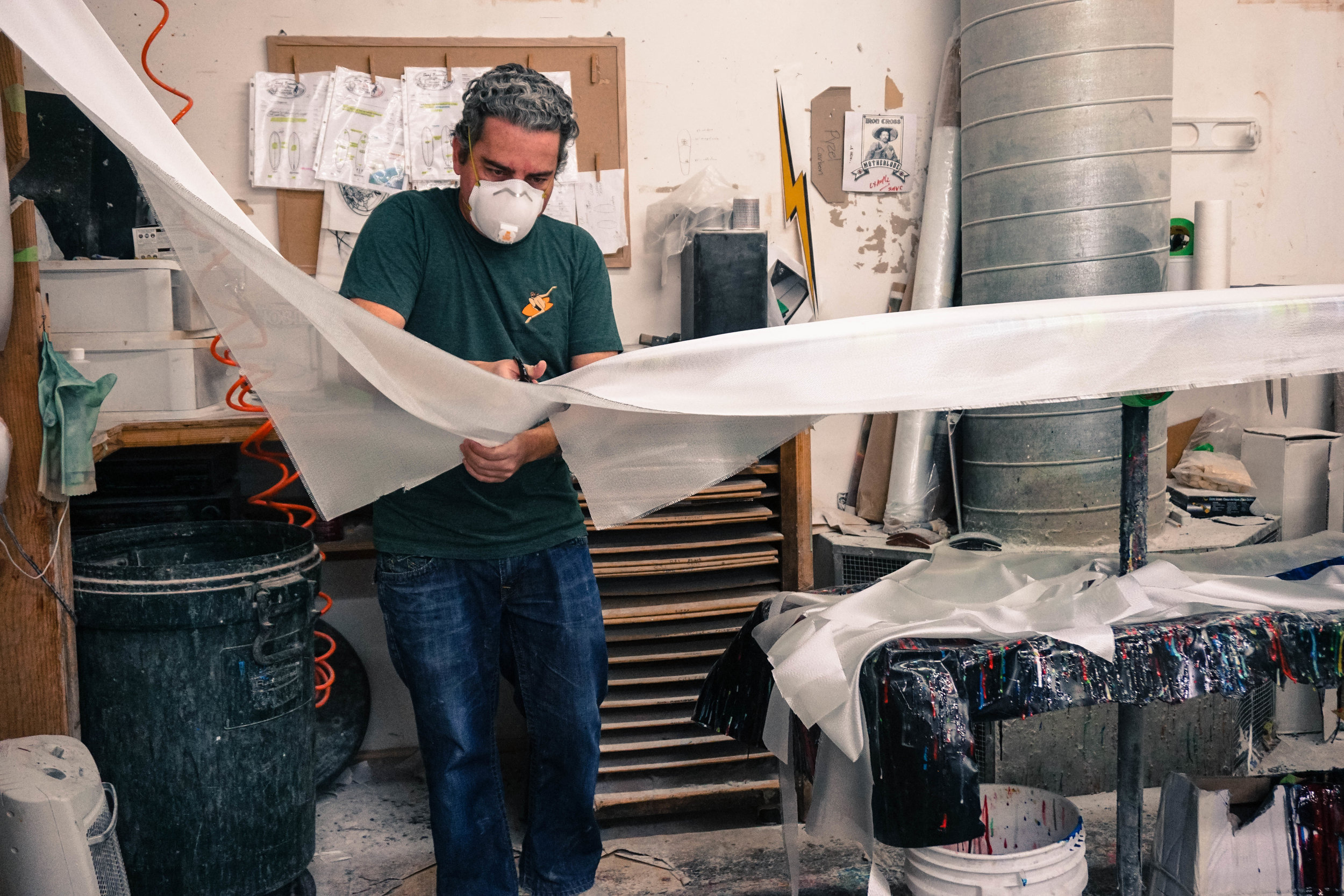 Lamination & Color - ...the key to your surfboard