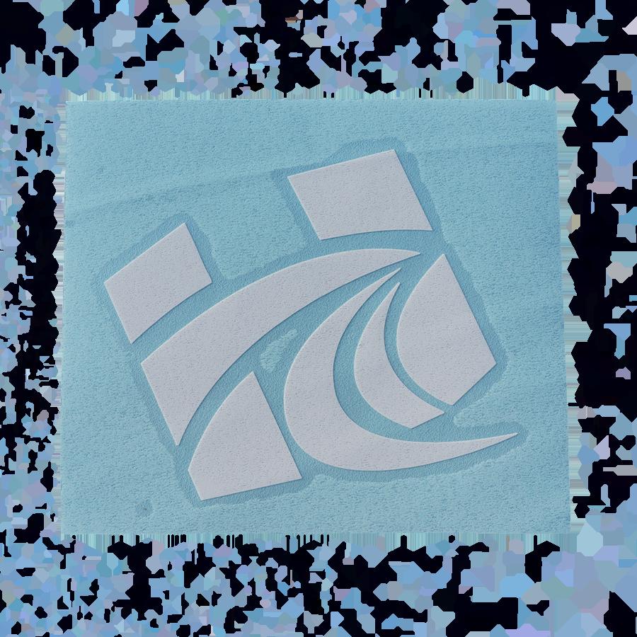 "4"" x 3.4"" Transfer sticker (logo only)"