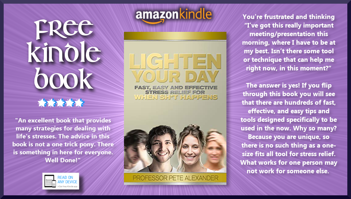Blog Post ➡ #FREE #KINDLE #BOOK ➡ Lighten Your Day: Fast, Easy and
