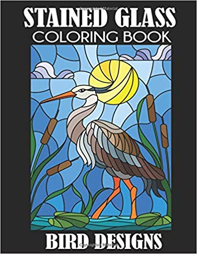 Stained Glass Coloring Book Bird Designs Paperback.jpg