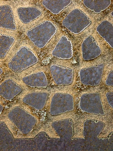 Brass Brown Florentine | No Cut-back | Unsealed | Carved Tortoise