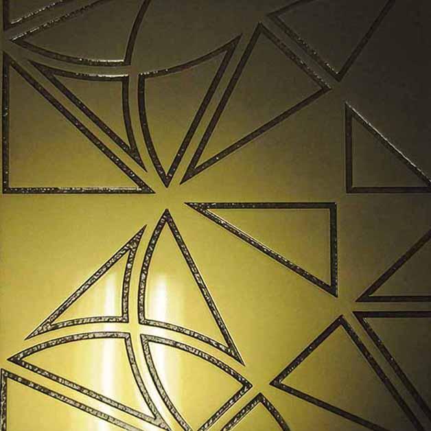 Brass Smooth | Brass Viper Inlay Gloss