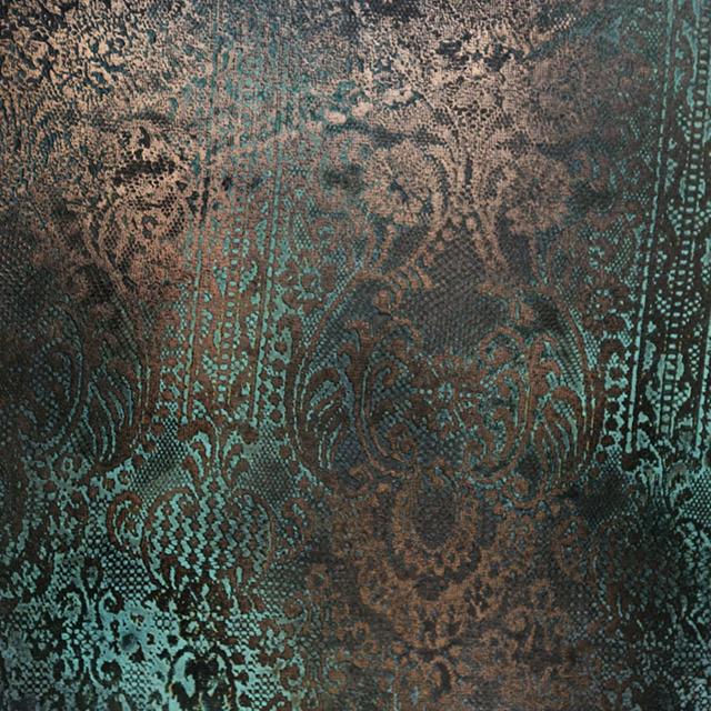 Bronze Lace Verdigris Florentine