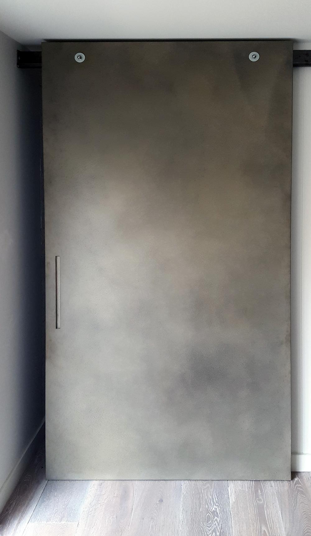 Concrete Greige Lunar | External Slider