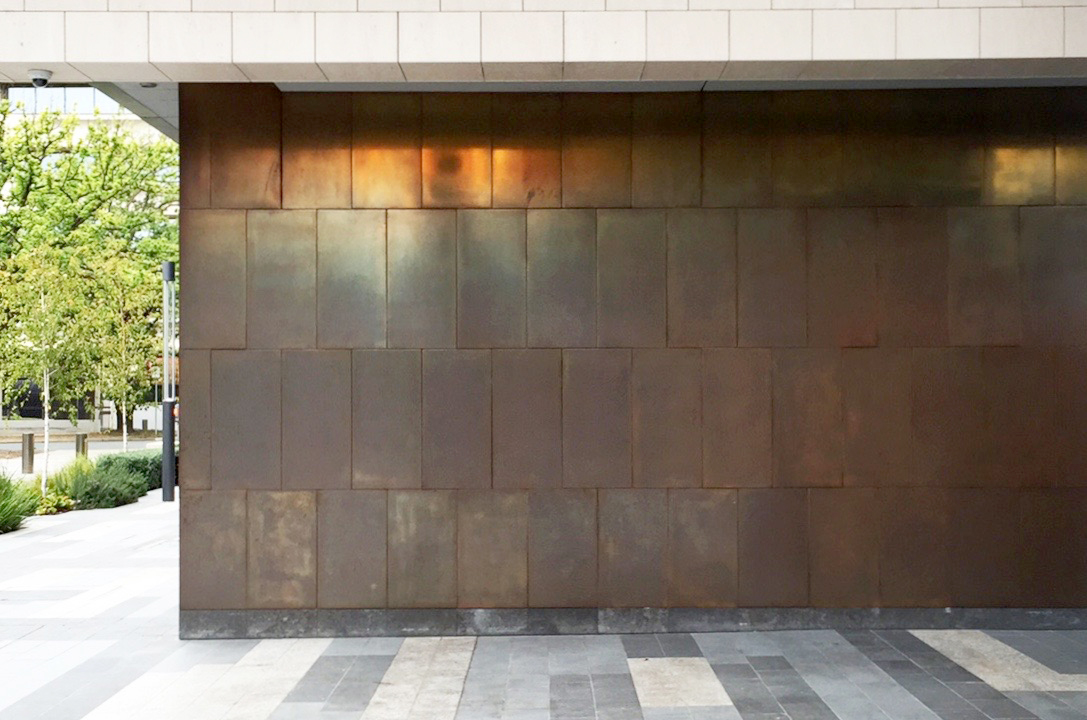 4NC | Copper Brown Florentine Sheet Metal
