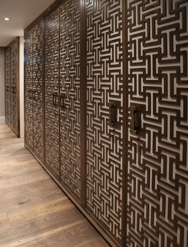 The Langham Hotel | Brass Florentine Linish Screens