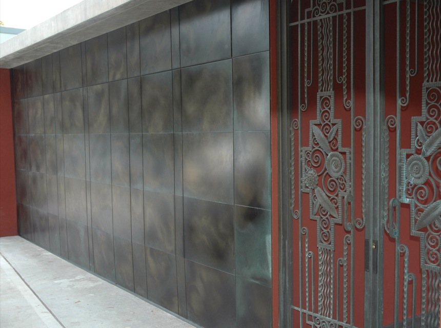 Bronze Cast Florentine Gate