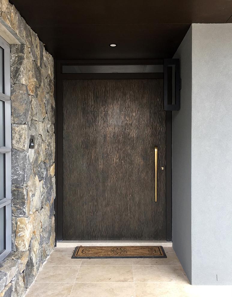 Cortex Door | Bronze Smooth Florentine