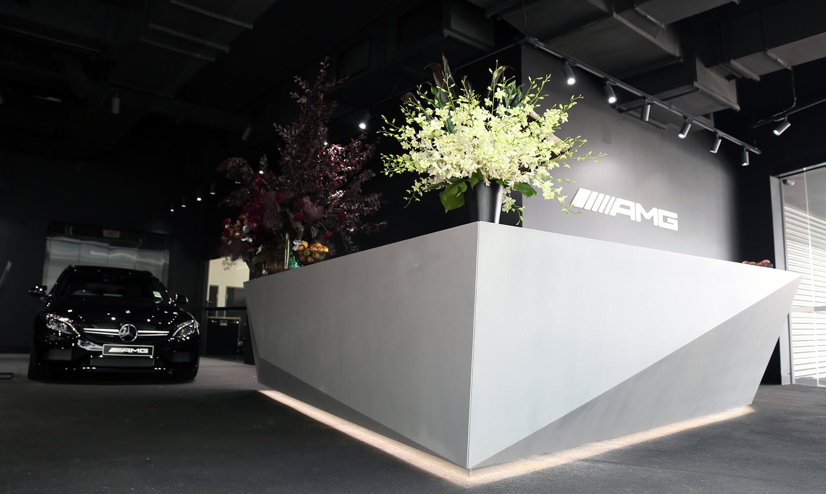 AMG Counter | Custom Concrete