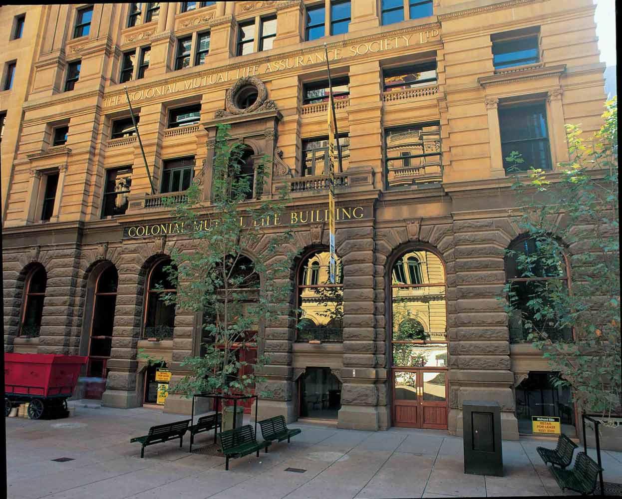 Copper Window Frames