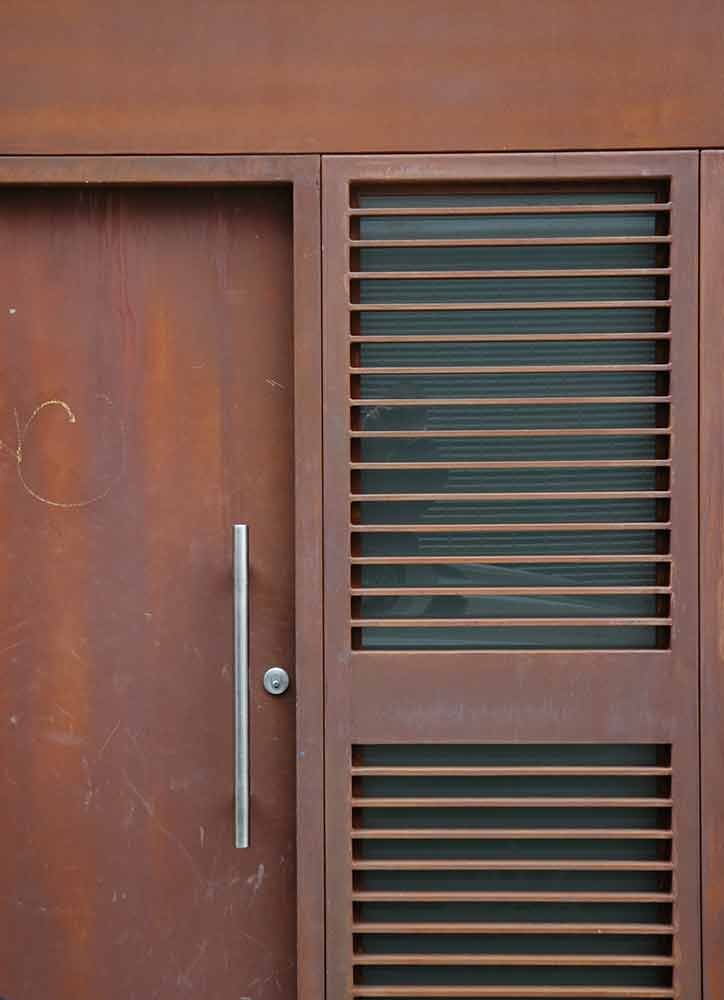 Brown Rust Facade