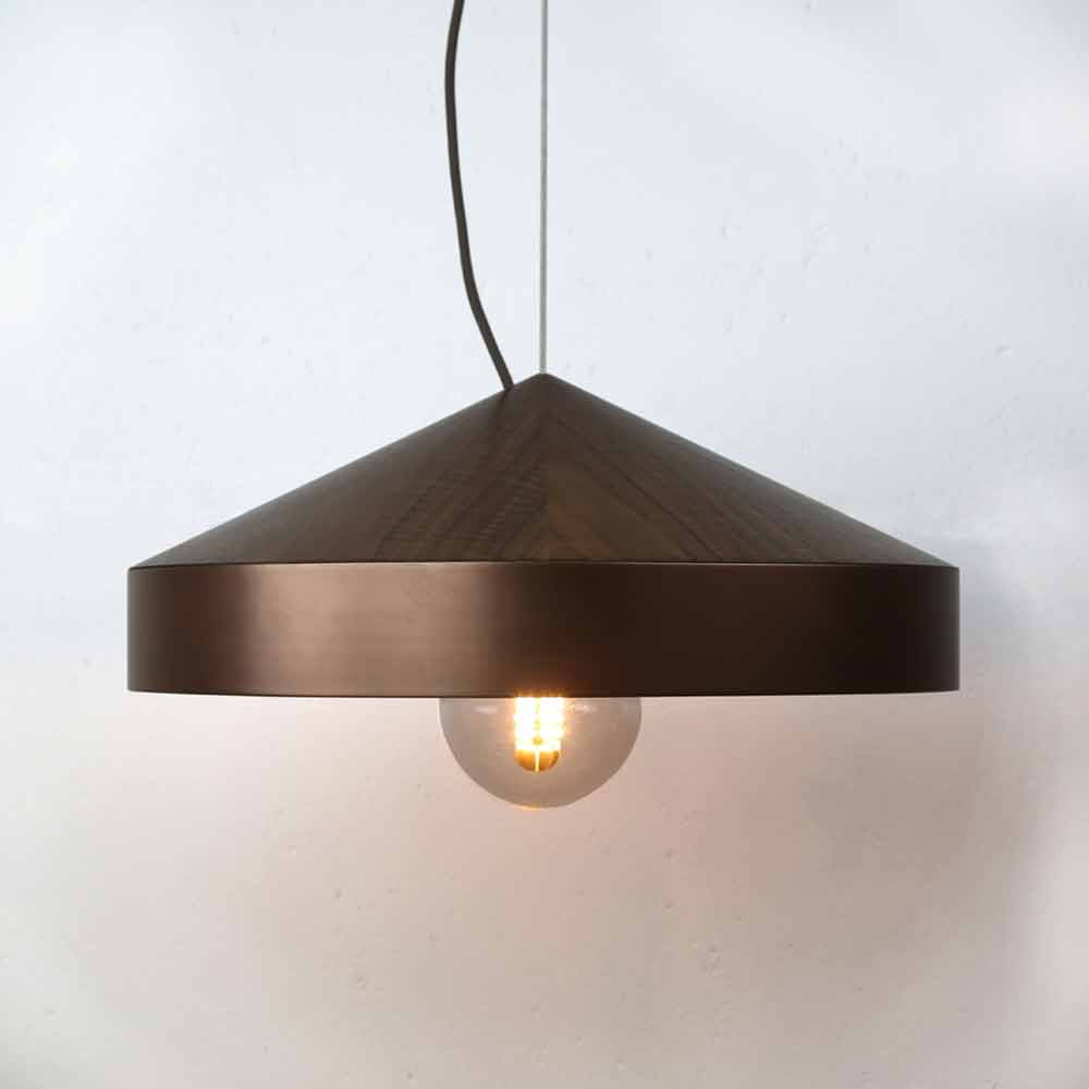 Coco Reynolds - Lunar Pendant Light | Copper Smooth