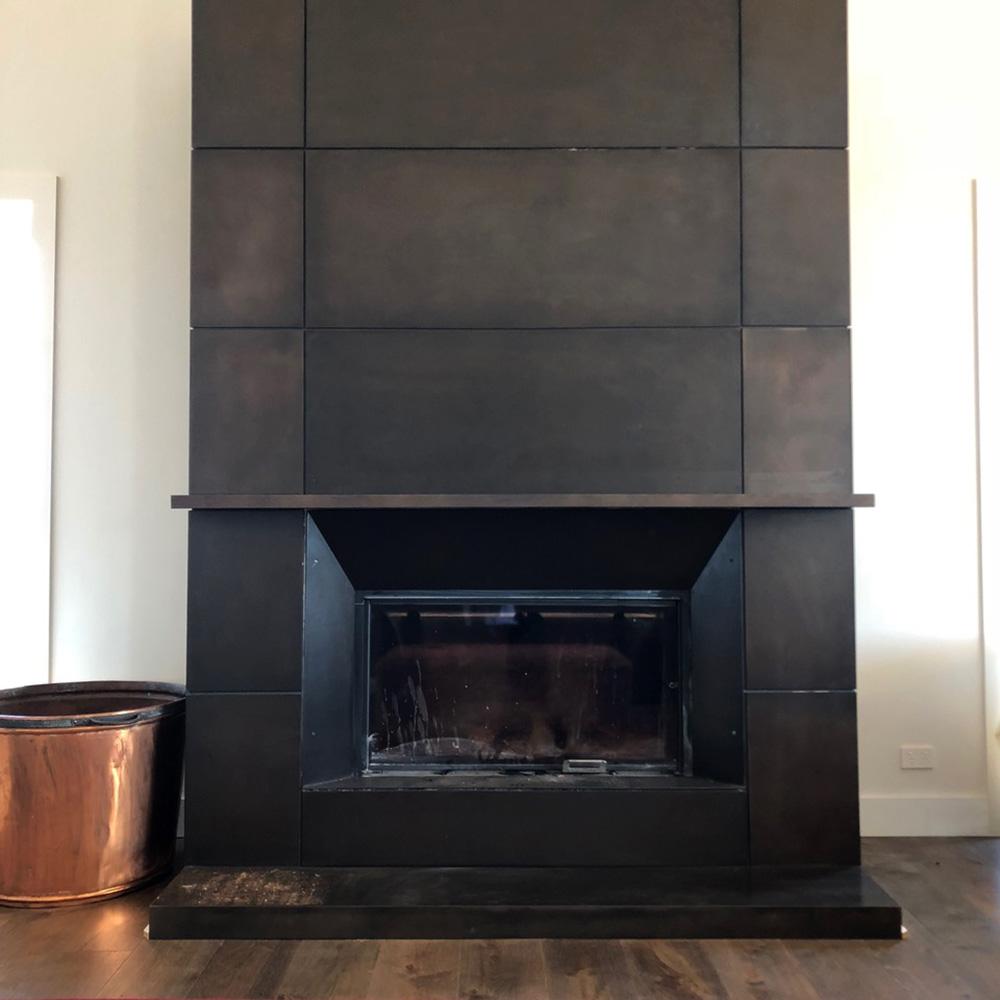 Fireplace Surround | Bronze Smooth Florentine