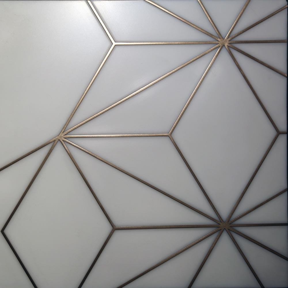 Dubai Pattern - Bronze Emboss