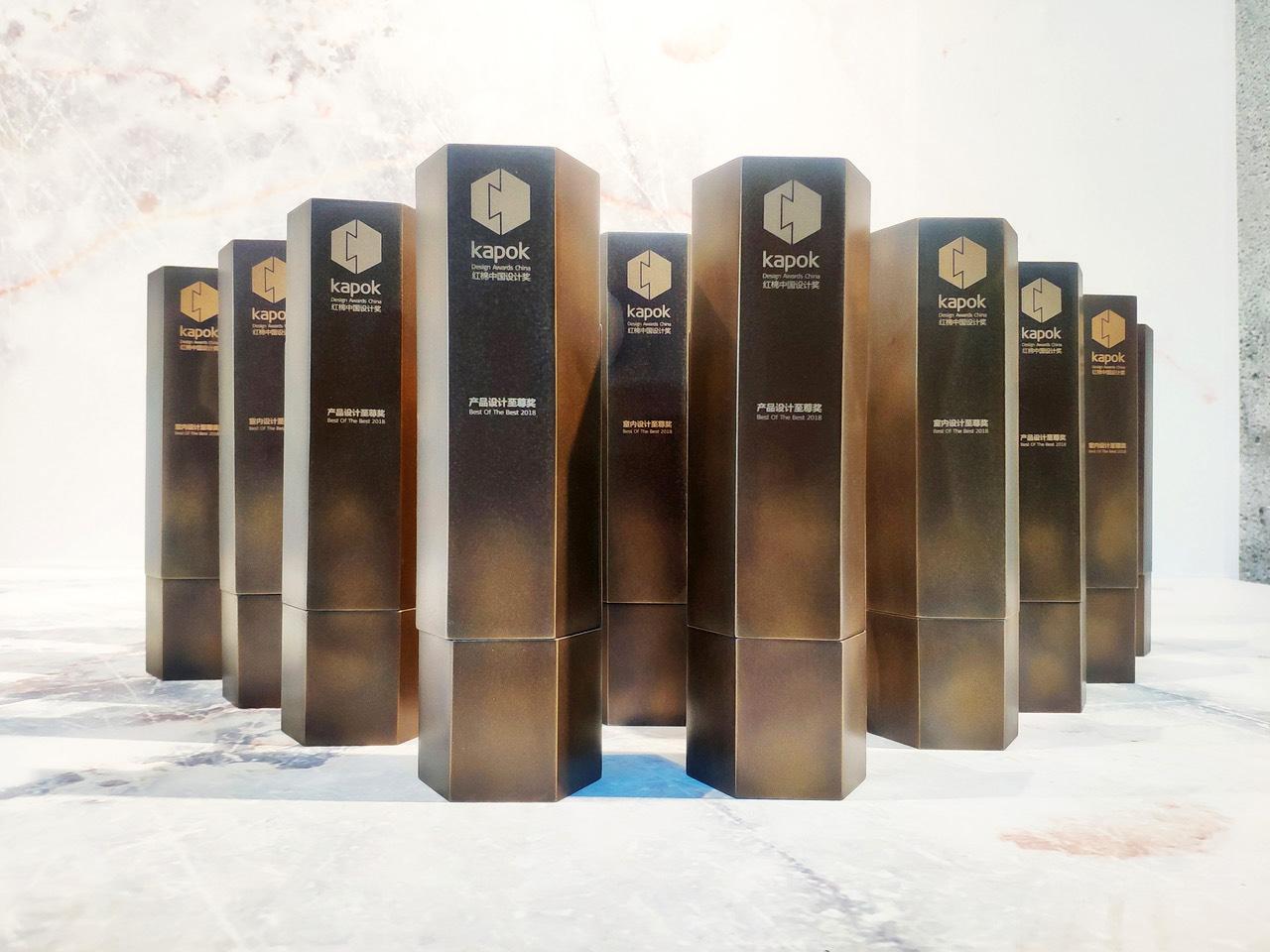 Kapok Design Awards | Bronze Black Florentine