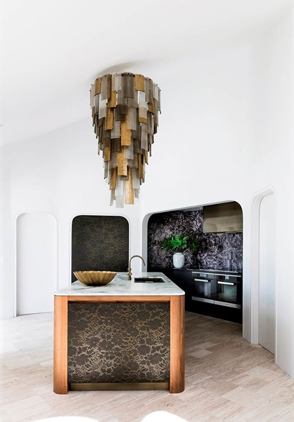 Surface: Brass and Graphite Cayman  Design: Brendan Wong Joinery: Melmac Interior Joinery Photography: Maree Homer