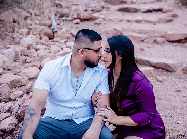 """I can't help falling in love with you."" . . . . . . . . . . . . . . . . . . . . . . . . . . . . . . . . #bride #engaged #engagementring #engagement #shesaidyes #love #wedding #engagementphotos #mylove #arizona #phoenix #coupleainlove #heandshe  #denydiaz"