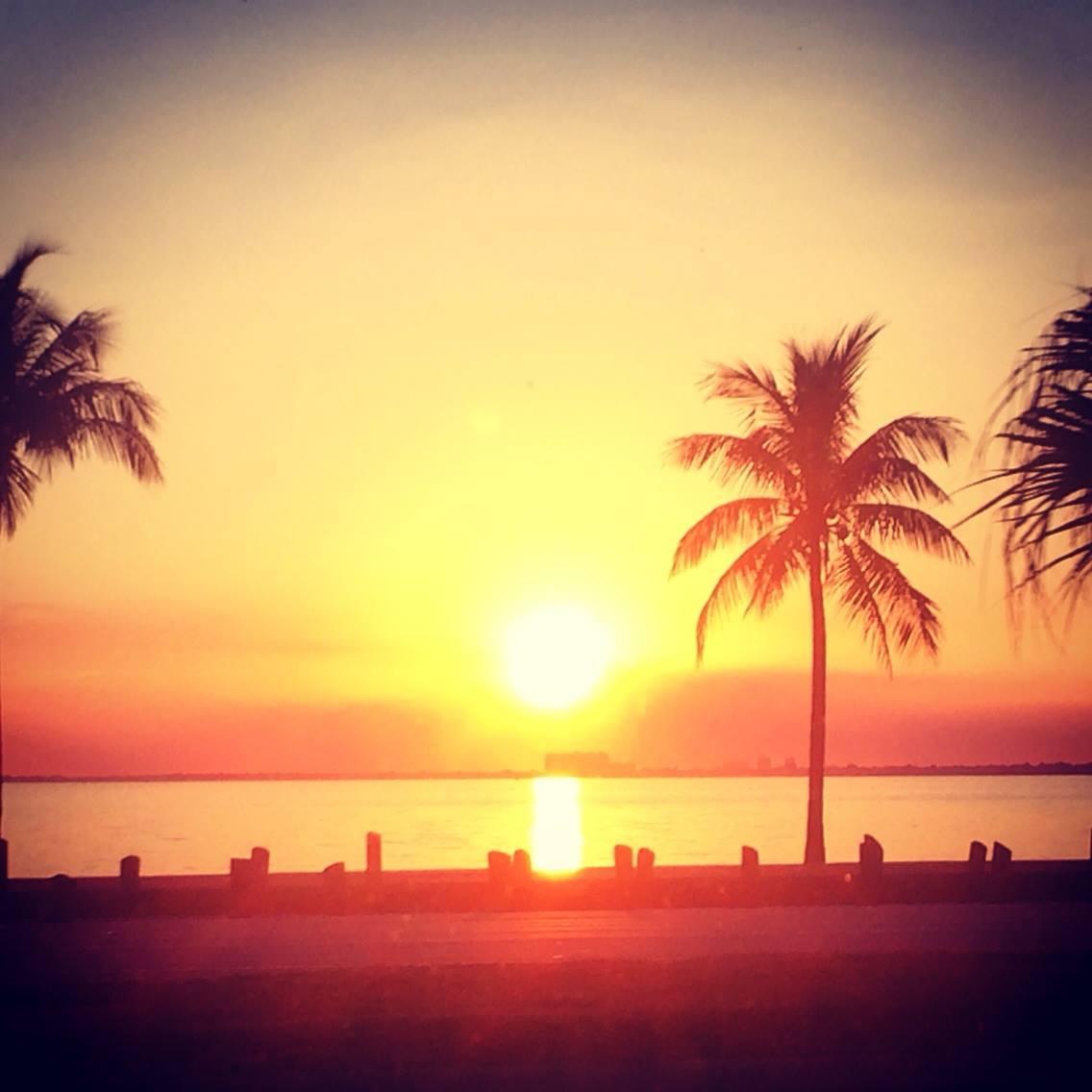 Last Sunset in Miami