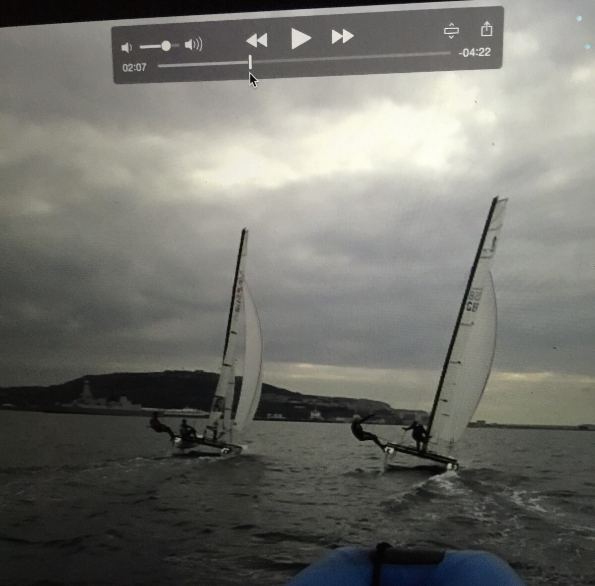 Video Analysis post sailing