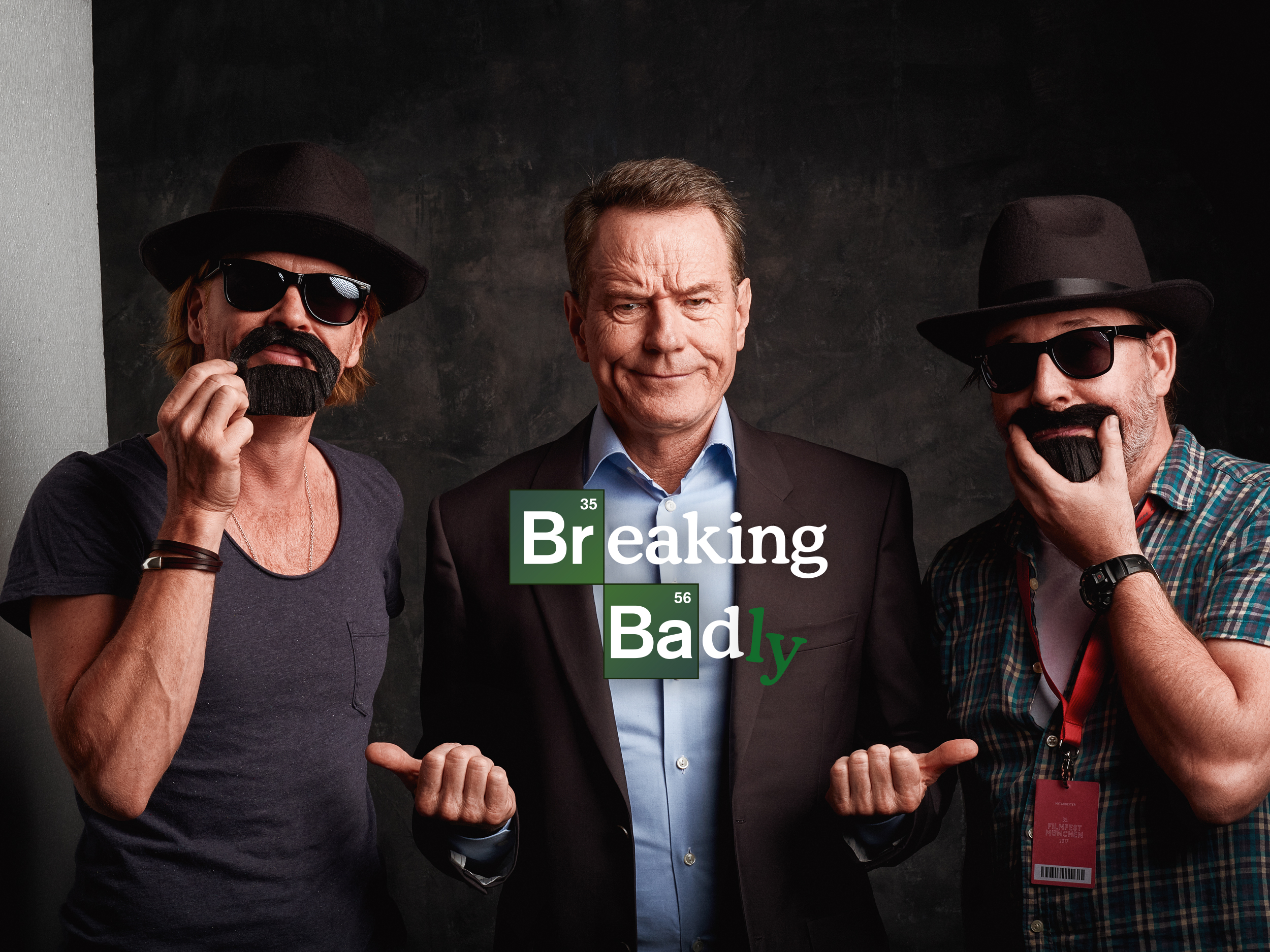 Mike Kraus & Marc Perino are »breaking badly« with  Bryan Cranston