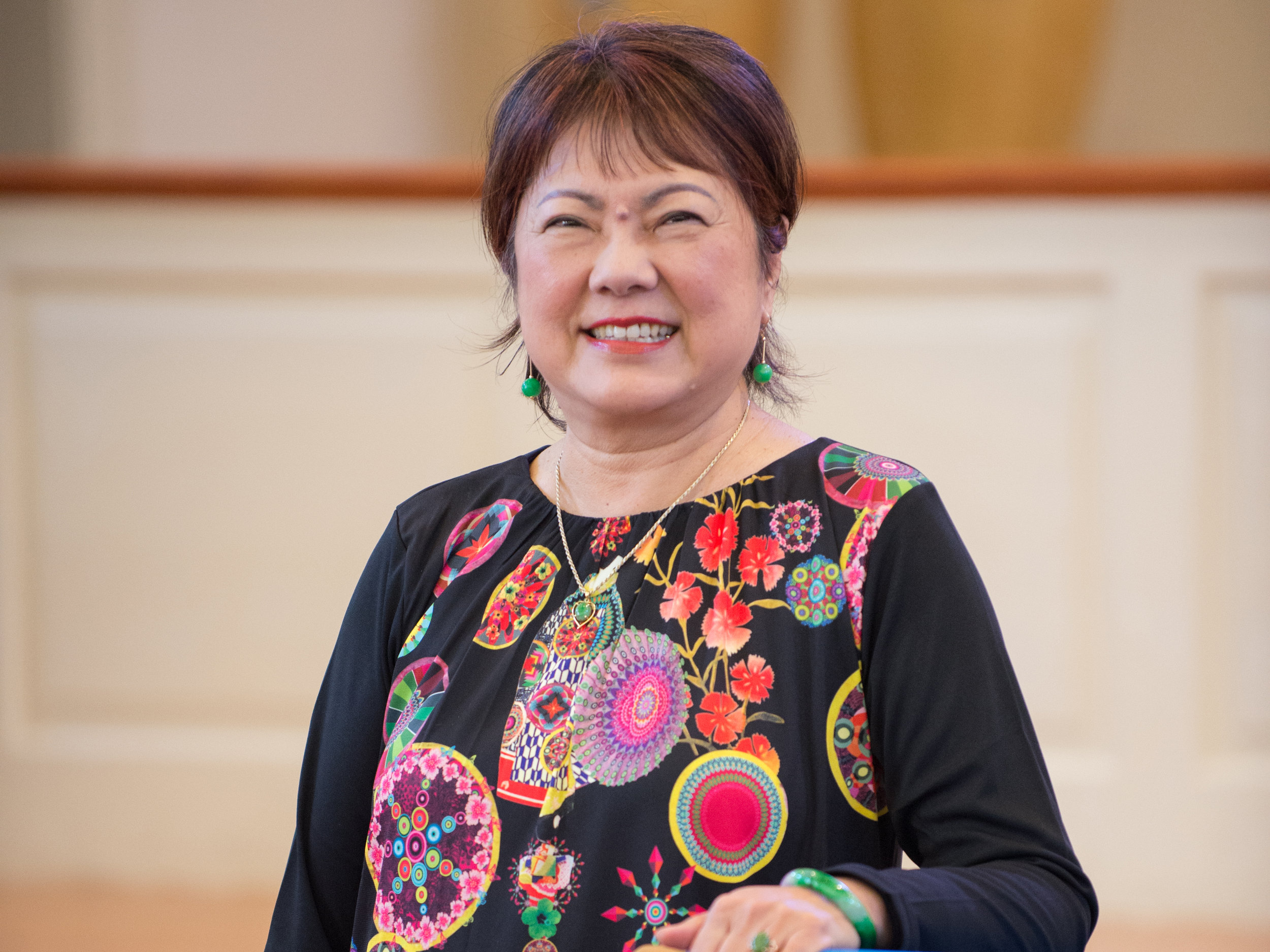 Jane Pan, Pastor of the Chinese Baptist Church - chinese@foresthills.org