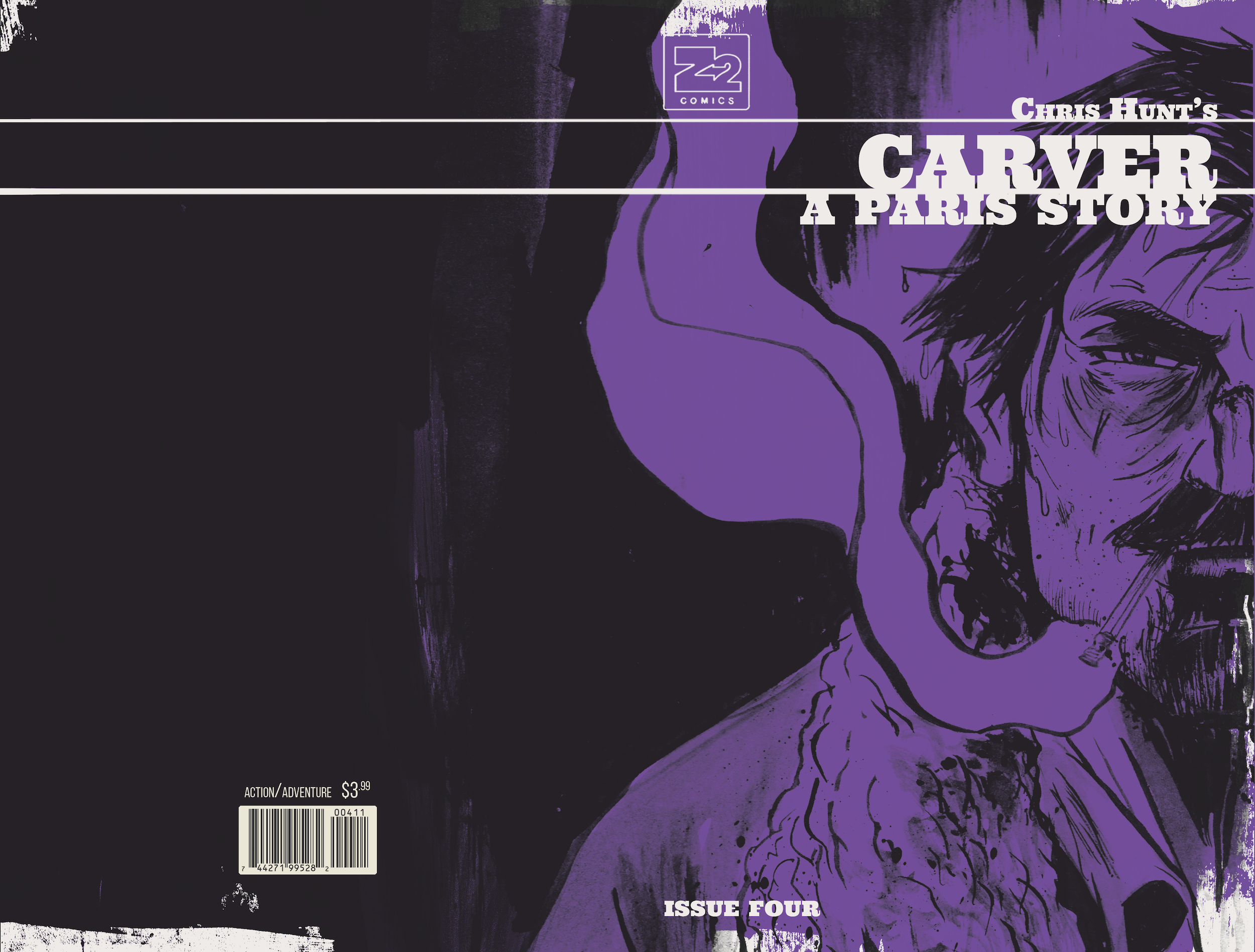 CARVER: A Paris Story Issue 2 Cover