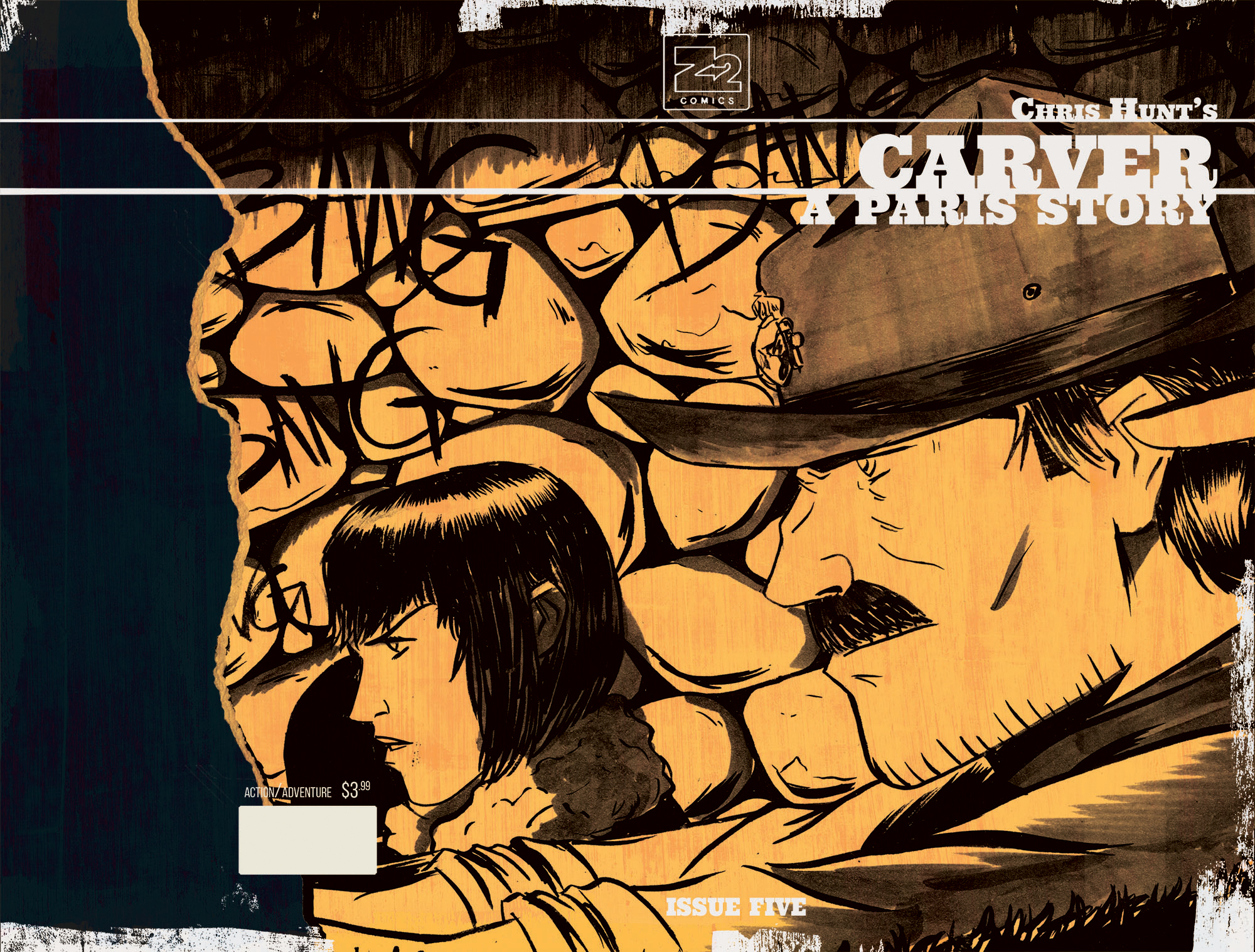 CARVER: A Paris Story Issue 5