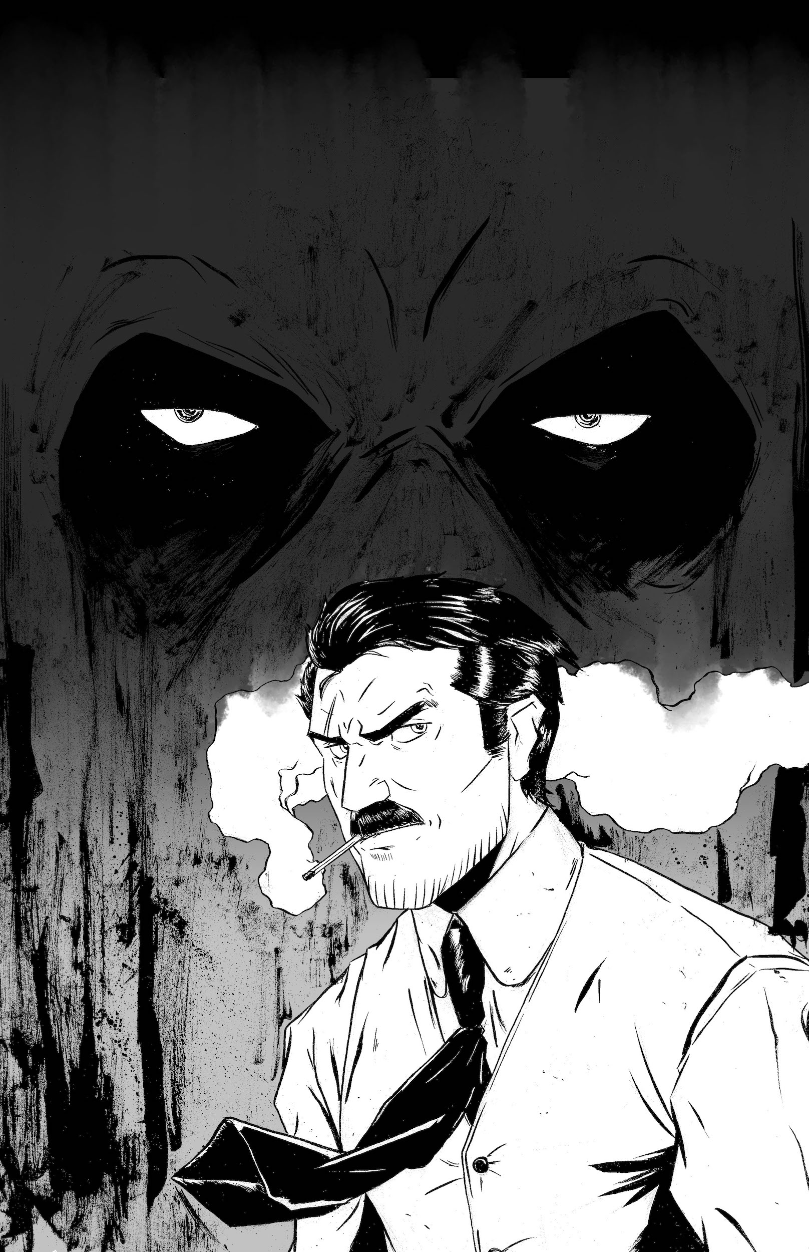 CARVER: A Paris Story Issue 1 Drawing