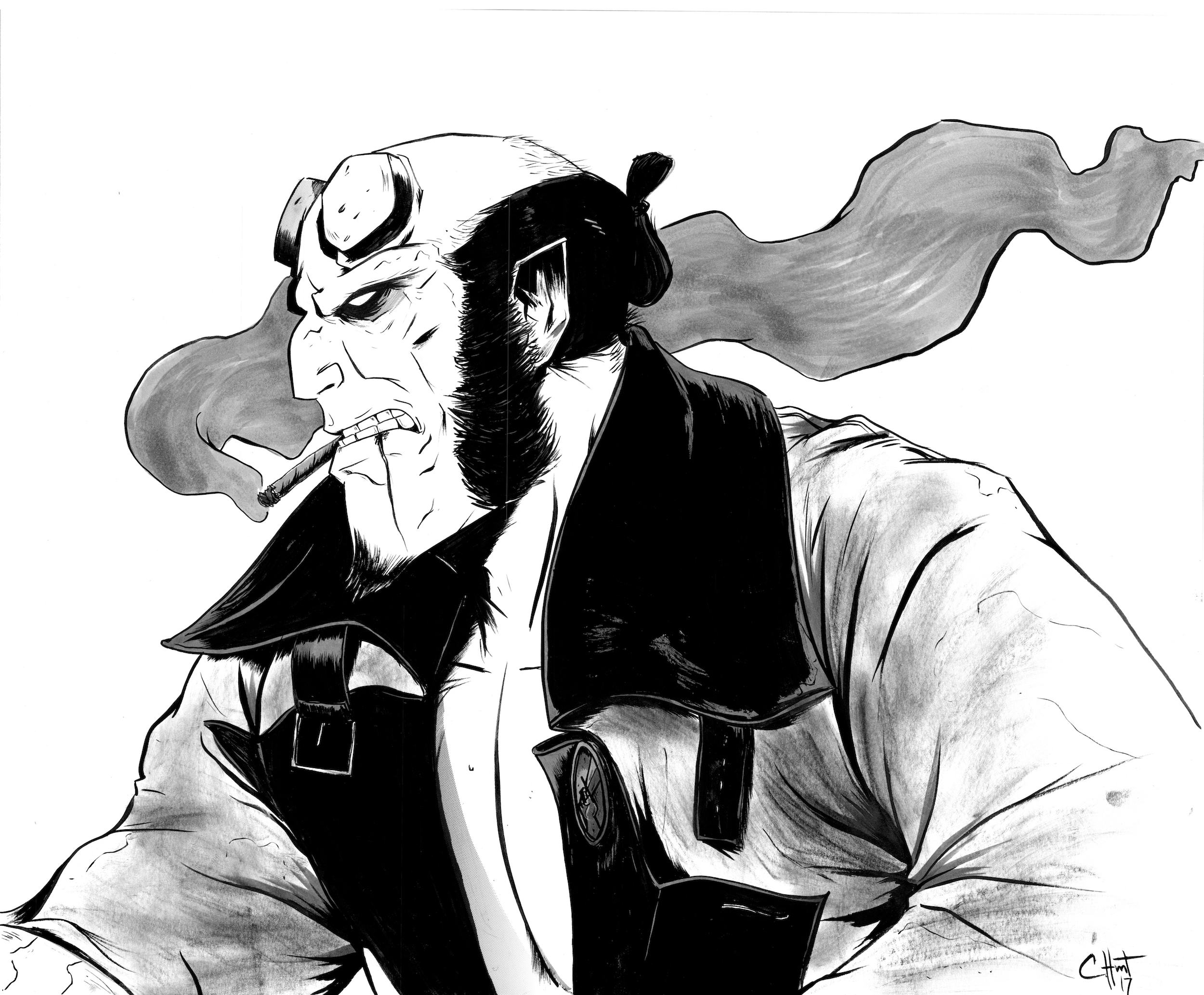 Hellboy Commission