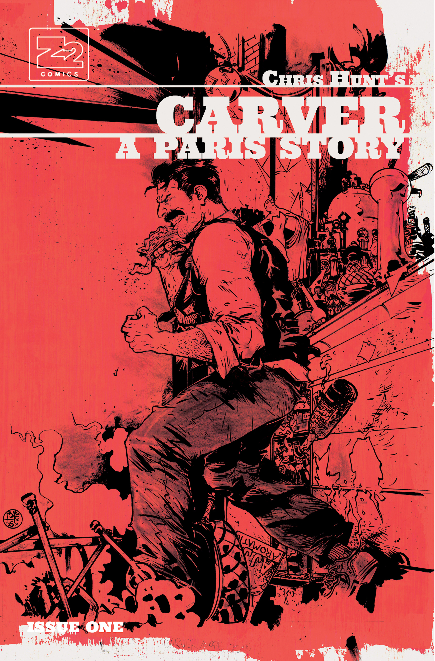 Issue 1 Paul Pope Variant 1