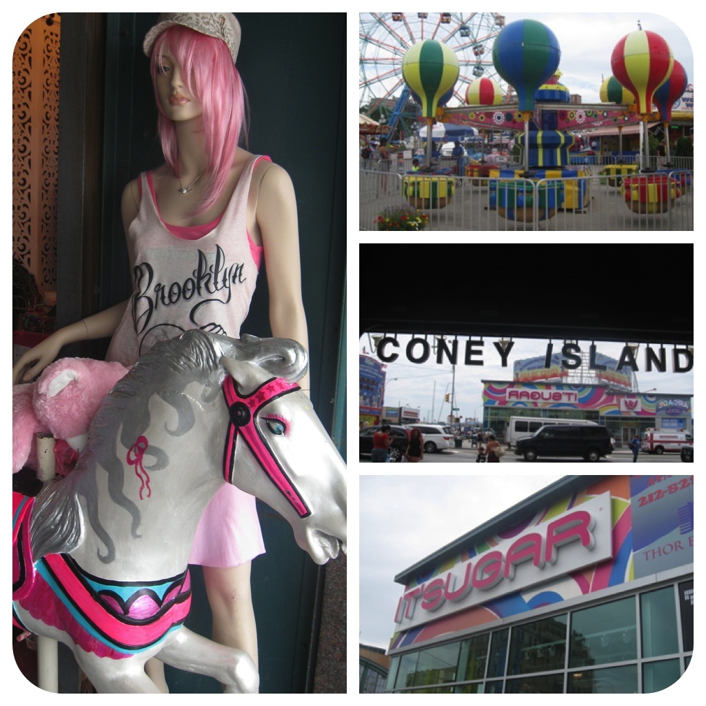 Color of Coney Island