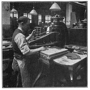 Die cutting machines were originally created to cut leather for the shoemaking industry in the 1920s.