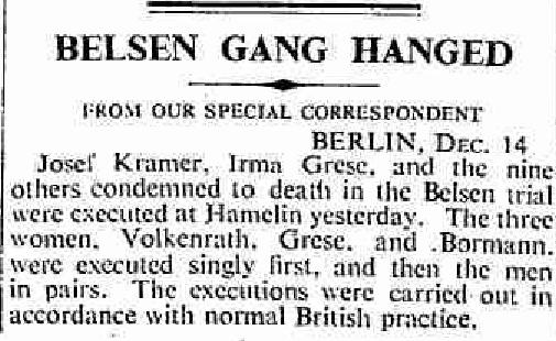 Belsen Gang Hanged London times 15 Dec 1945.jpg