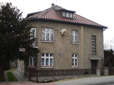 Rudolf Höss' villa in Auschwitz where the family lived 1940-1944