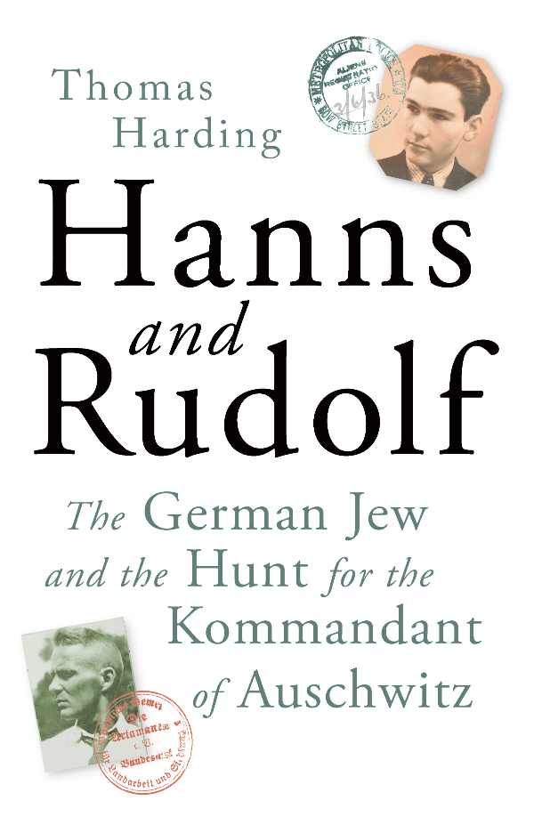 'Hanns and Rudolf' UK book cover