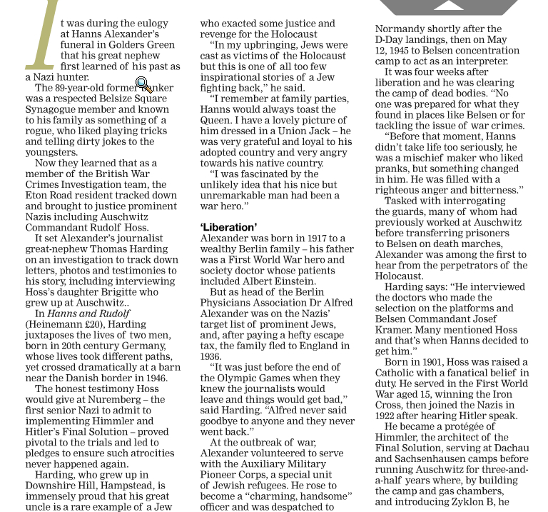 Ham&High 12 Sep 2013 page 1.jpg