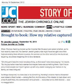 Jewish Chronicle 16 Sep 2013