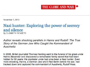 Globe and Mail 8 Nov 2013