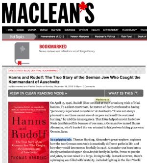 Maclean's Magazine (Canada) 16 Dec 2013