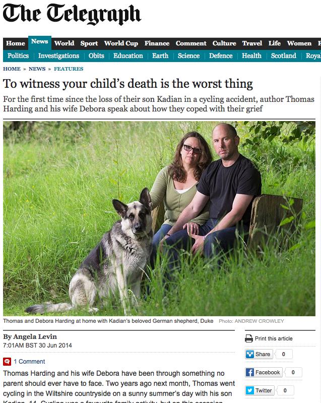 Telegraph 30 June 2014
