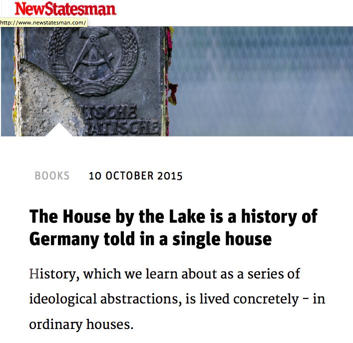 New Statesman 8 October 2015