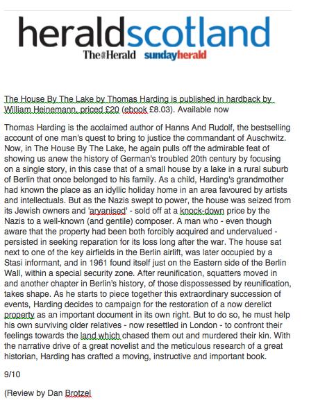 Herald Scotland 30 September 2015