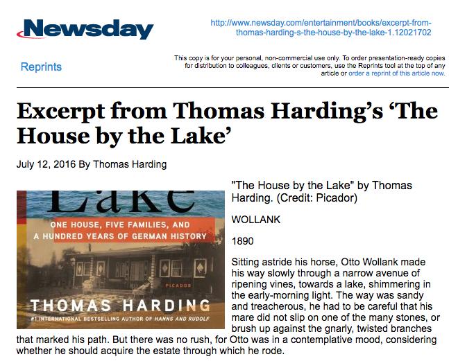 Press — Thomas Harding