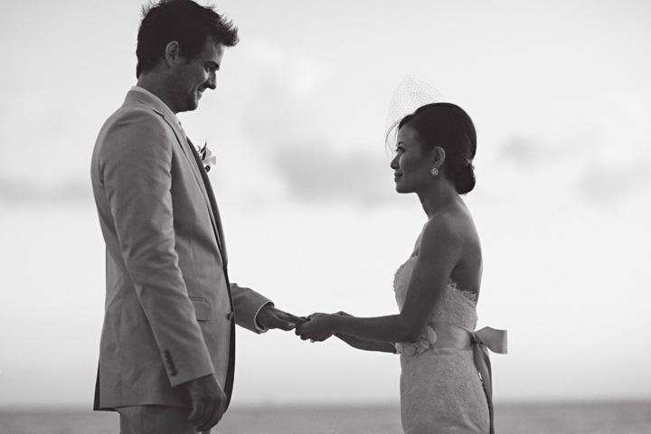wedding photo at Casa Marina in Key West Florida