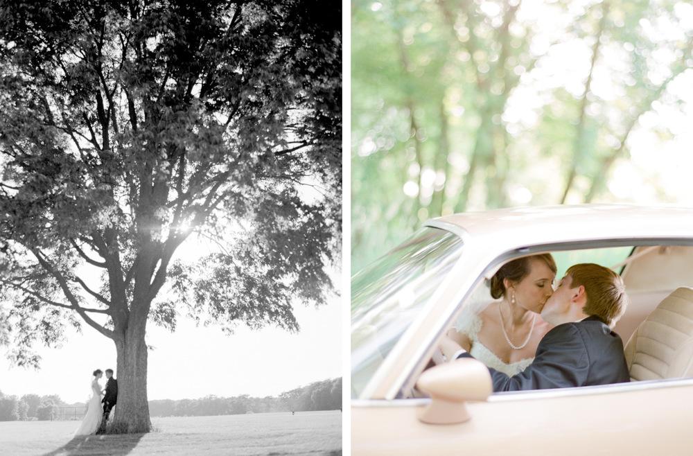 Usher's Ferry Wedding Cedar Rapids Iowa