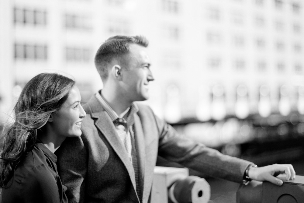 chicago engagement photograph