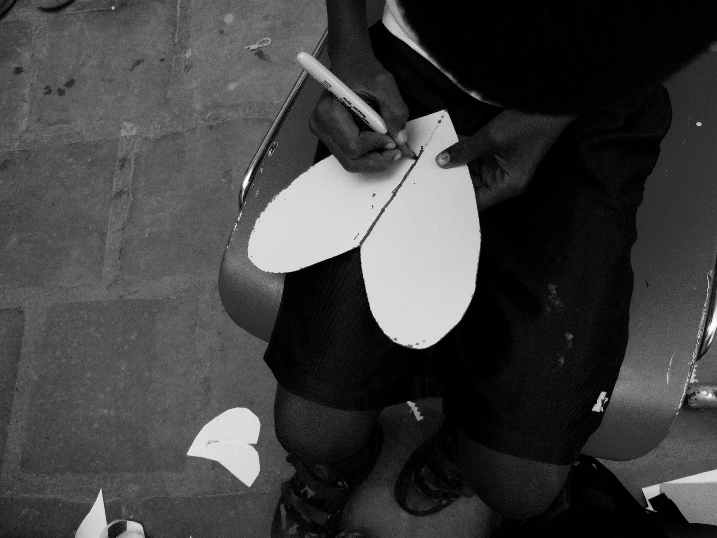 Heart.   Zanmi Lasante. Cange, Haiti. 2009  Digital