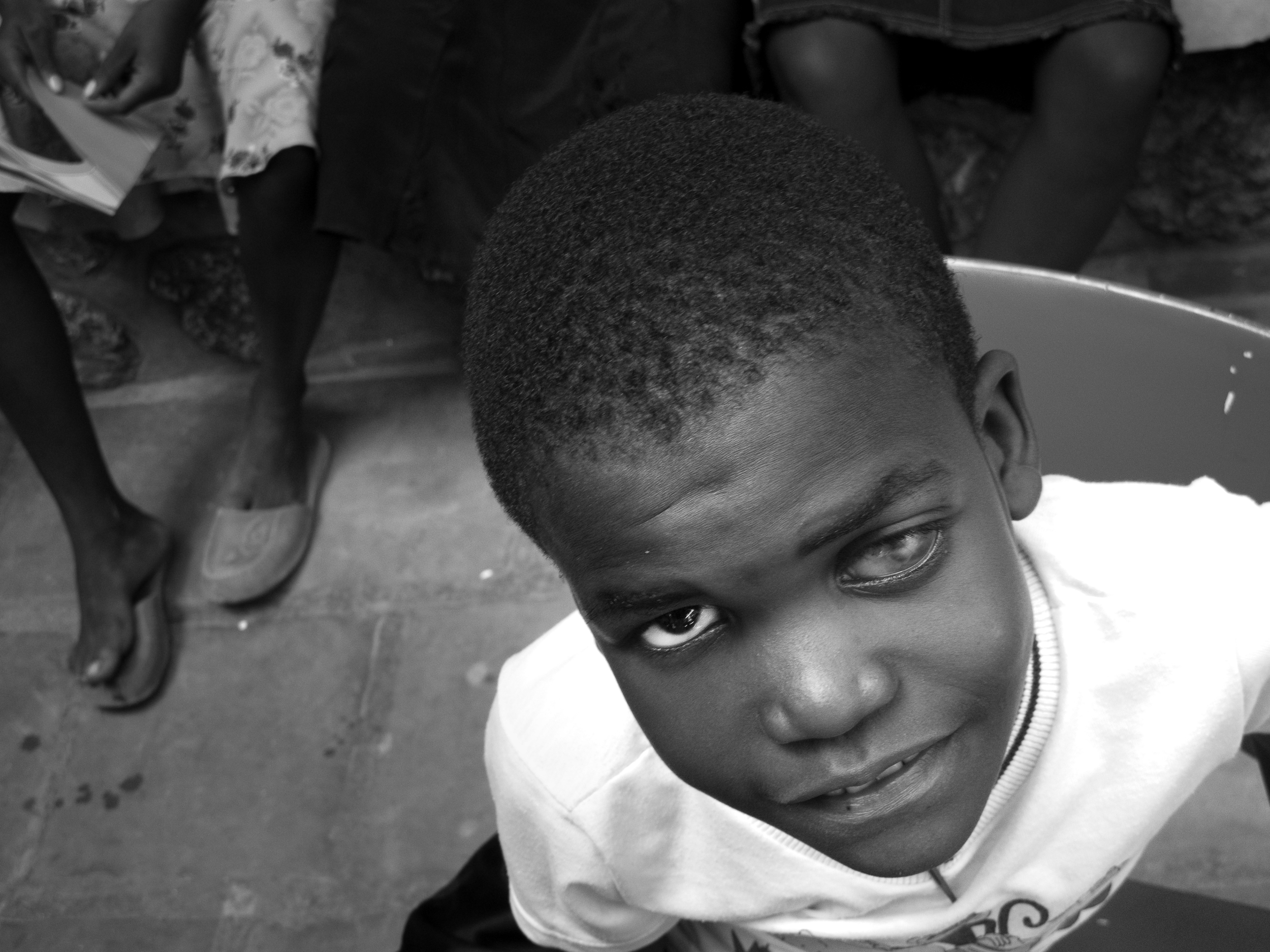Edison.   Zanmi Lasante. Cange, Haiti.  2009  Digital
